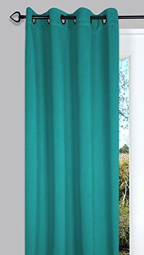 Ideenreich 2227 verduisteringsgordijn, 135 x 260 cm, turquoise