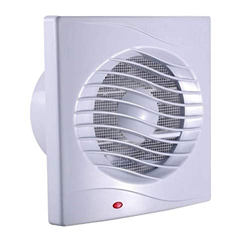 MLZWS Extractor de baño Ventilador de Escape Ventilador Fuerte para Cocina Ventiladores de ventilación de Ventana de Inodoro Ventiladores de Pared de conducto