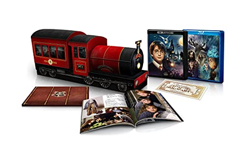 Harry Potter and the Sorcerer's Stone Anniversary 8-Film Collector's Edition [4K UHD + Blu-ray]