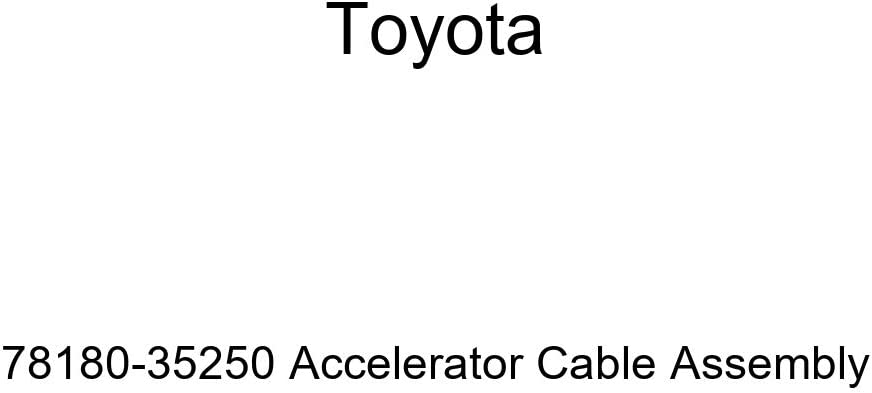 Toyota 78180-35250 Accelerator Max 87% OFF Ranking TOP9 Cable Assembly
