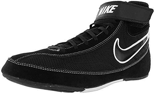 Nike Men's Speedsweep VII Wrestling Shoes (14 M US, Black/Black/White)