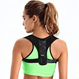 Back Posture Corrector Clavicle Support Brace for Women & Men by Potou, Figure
