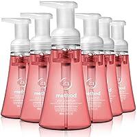 6-Pack Method Foaming Hand Soap, Pink Grapefruit, 10 oz
