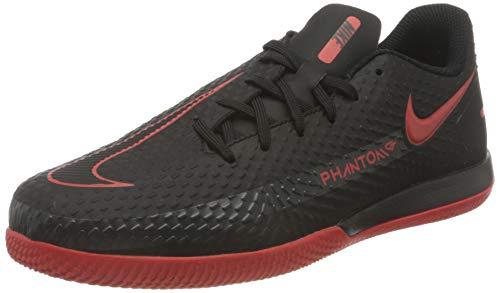Nike, Scarpe. Unisex-Adulto, Grigio Rosso, 4.5Y