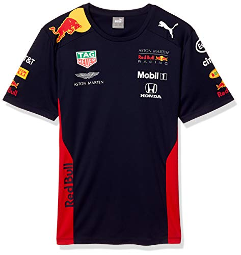 PUMA Red Bull Racing Herren Team T-Shirt Night Sky L