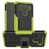 LFDZ Cover LG K51S,Resistente alle Cadute Armatura Robusta Custodia Protective Case Cover per LG K51S / LG K41S Smartphone(Not Fit Other Models),Verde