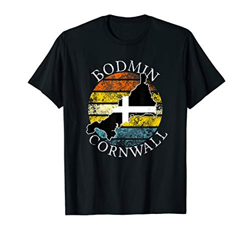 Bodmin Cornwall England Celtic Design Gift T-Shirt