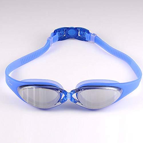 Zwembrillen | Zwembrillen voor Mannen Vrouwen Volwassenen - Beste Niet Lekken Anti-Fog UV Bescherming Clear Vision Blauw 1