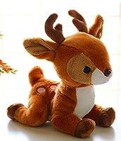 NC83 ぬいぐるみおもちゃ23cm小さな柔らかい鹿リアルな鹿ぬいぐるみ人形リアルなキリン人形車の装飾の装飾品誕生日プレゼント枕の装飾