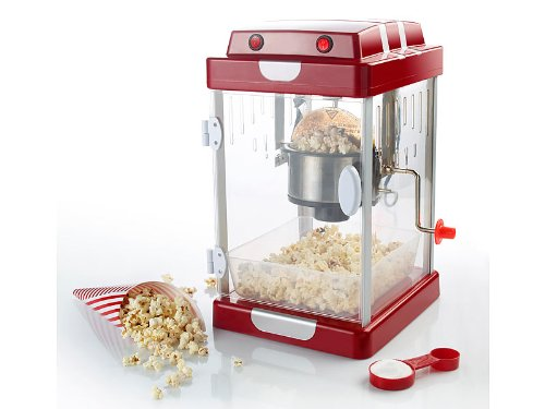 "Rosenstein & Söhne Retro-Popcorn-Maschine ""Movie"" im 50er-Jahre-Look"