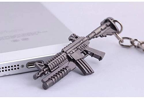 VAWAA Novelty Ak47 Counter Strike Gun Keychain for Men Trinket AWP Rifle Sniper Cs Go Saber Men Es Jewelry Key Chain Souvenirs Gift