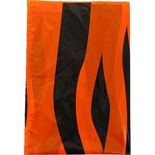 Fixo 72306 - Pack de 25 bolsas disfraz, 56 x 70 cm, color multicolor (naranja/negro)