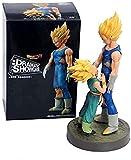 2 unids/Lote Dragon Ball Z Vegeta Trunks Padre Hijo Adiós Ver. DBZ Goku Trunks Super Saiyan Figura d...