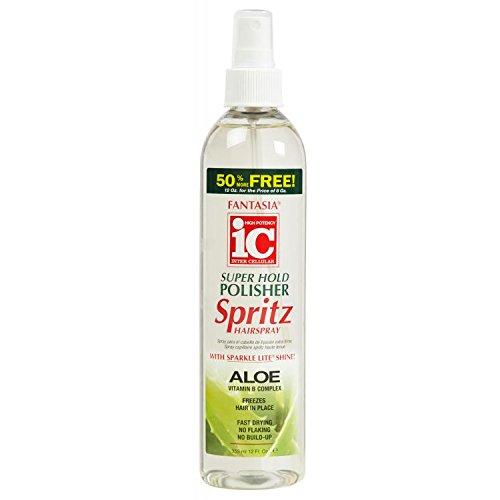 Fantasia IC Super Hold Polisher Spritz Spray Cheveux 355 ml