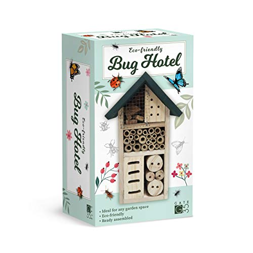 Eco-Friendly Bug House Hotel - Insect Nest Box for Gardens and Yards