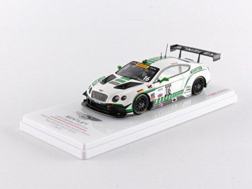 Truescale Miniatures- Miniature Voiture de Collection, TSM164313, Blanc/Vert métal