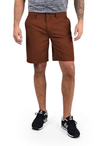 !Solid Thement Herren Chino Shorts Bermuda Kurze Hose Aus 100{85931a397ccb910848edb949f0b4ceba3cd027c2550e934e9a4c25e2497dbdbe} Baumwolle Regular Fit, Größe:L, Farbe:Fox Brown (6792)