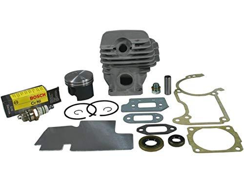Sägenspezi Zylinder Kolben Set passend für Stihl 026 MS260 MS 260 44,7mm inkl. Dichtsatz und Zündkerze