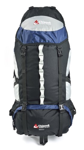 Chinook Shasta Cadre Interne Expedition Lot, Bleu, 75-Liter