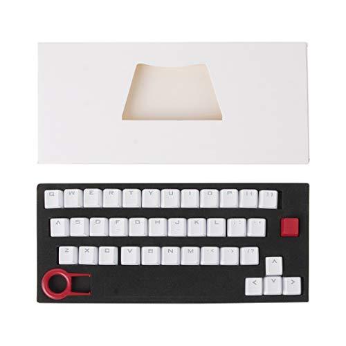 JUNESUN PBT 37 Tasten Double Shot Translucidus Tastaturkappen mit Hintergrundbeleuchtung für mechanische Tastatur