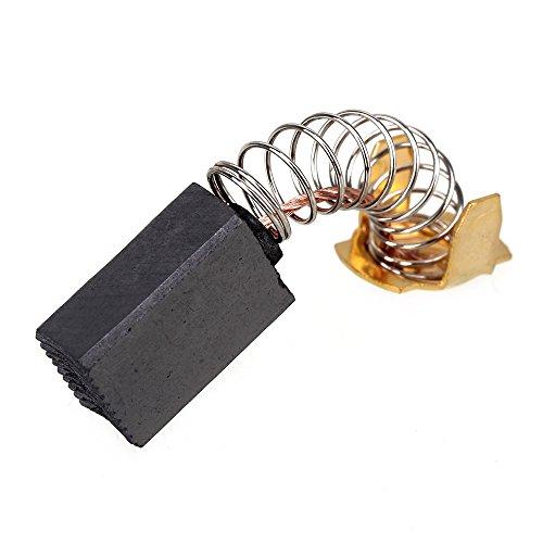 BQLZR Cepillos de carbono para motor eléctrico de 16 x 11 x 7 mm, 43 # para herramientas eléctricas, piezas de repuesto para taladro de herramientas eléctricas, paquete de 10