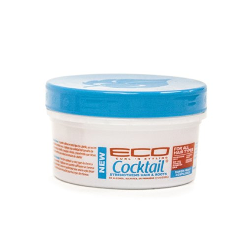 Price comparison product image Eco Style Curl & Style Cocktail Strengthens Hair & Roots,  8 Ounce