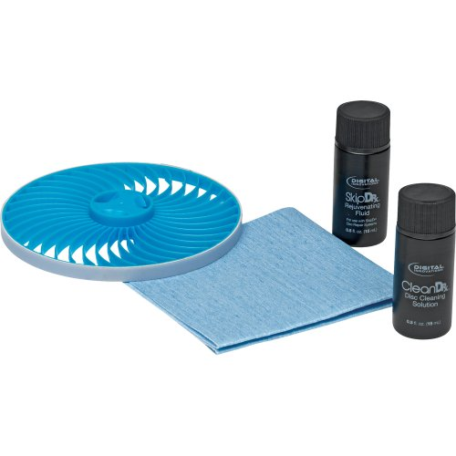 Digital Innovations SkipDr for Blu-Ray Disc Repair + Cleaning System Replacement Accessory Kit (4090500)