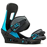 Burton Freestyle Snowboard Bindings Cobalt Blue Sz L (10+)