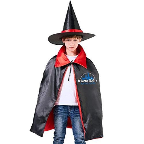 NUJSHF Walter White Meth Labs Show Jessie Pinkman Capa con Capucha Unisex para niños, con inspiración de Metales, Ideal para Halloween, Fiestas, Disfraces de Cosplay