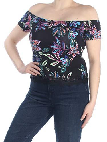 GUESS Women's Half Sleeve Nolita Top
