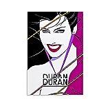 Withtap Duran Duran Kunst-Poster, Leinwand-Kunst-Poster und