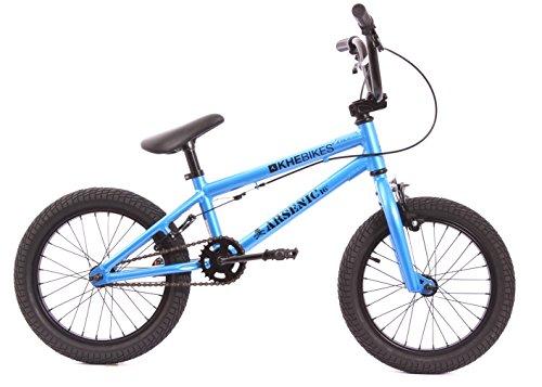 KHE - Bicicletta BMX Arsenic, 16pollici, colore: blu