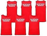 WIXSOO Canotta Salvataggio Lifeguard 3 Pack Uomo (M, Stampa Fronte Retro)...