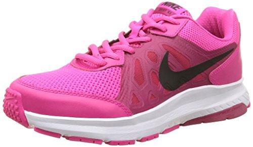 Nike Dart 11 - Zapatillas de running para mujer, color gris / blanco / negro, talla 38, Fucsia / Negro, 37.5
