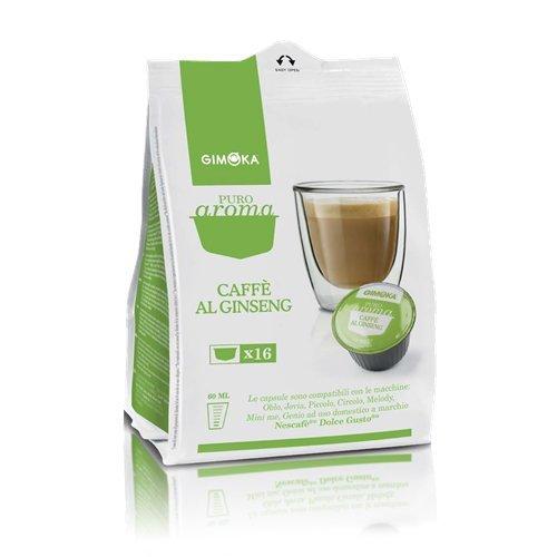 192 CAPSULE COMPATIBILI DOLCE GUSTO GIMOKA CAFFE' AL GINSENG