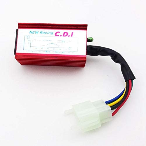 TC-Motor 5% OFF Alloy Red 6 Pin Racing Ignition 16 For AC 150cc CDI Limited time cheap sale Box