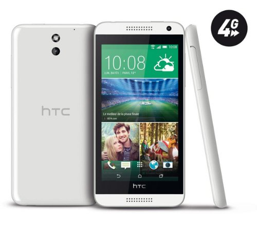 HTC Desire 610 – Weiß – 8 GB – 4 G – Smartphone – The HTC Desire 610 Nano SIM Smartphone Features Excellent Connectivity and Advanced Media Functions, [UK Import]