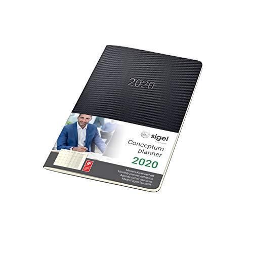 SIGEL C2084 Agenda Cuaderno-calendario mensual 2020,...