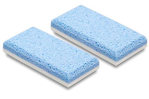 Piedra Pómez Doble Acción - Pack de 2 unidades - Elimina la piel dura de pies y manos y los suaviza