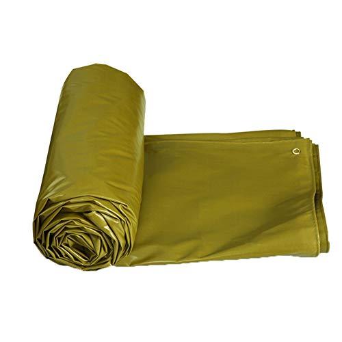 WEI afdekkingsset zonwering voor buiten, geel military, geschikt voor camping, vuur, afdekzeil voor parasol tegen verdikking