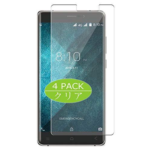 VacFun 4 Piezas Claro Protector de Pantalla, compatible con Blackview A8 Max,...