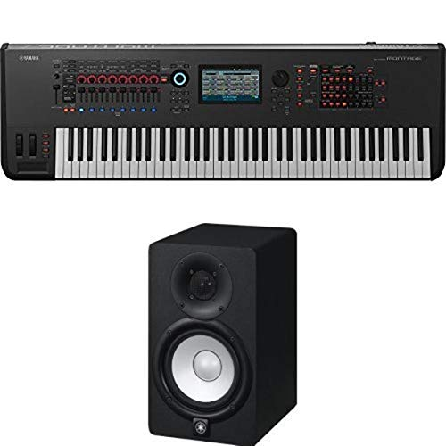 Yamaha Montage7 Synthesizer Workstation with Yamaha HS5 Studio Monitors