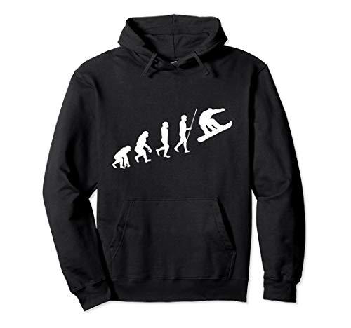 Snowboardfahrer Evolution Snowboarder Snowboard Geschenk Pullover Hoodie