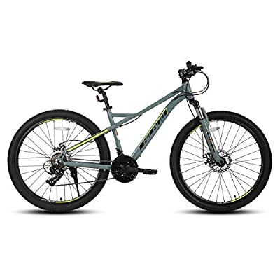 Hiland 27.5 Inch Mountain Bike 21Speed MTB Bicycle with Suspension Fork Urban Commuter City Bicycle