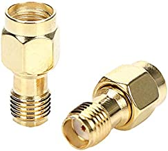TLS.Eagle SMA Female to RP-SMA Male RF Antenna Cable Connector Coax Adapter Pack of 2