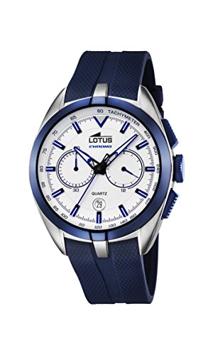 Lotus 1818189/1 - Reloj para Hombre, Cuarzo, cronógrafo,...