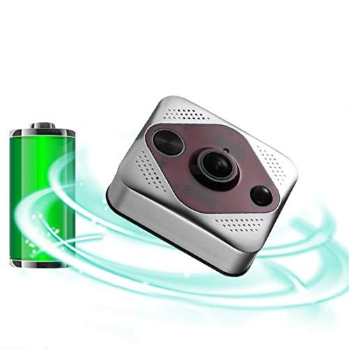 MFYXUE Sistema de intercomunicador de Timbre de videoportero WLAN, Timbre de Video WiFi función de intercomunicador de Radio Detector de Movimiento con Monitor
