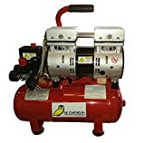 Compresor Portátil Silencioso Pintuc Modelo SIL 550/9-0,75 Hp - 9 Litros - 8 Bares - Novedad