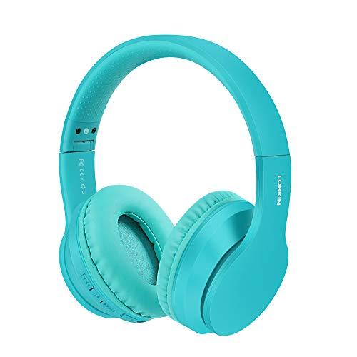 Auriculares inalámbricos LOBKIN, micrófono incorporado manos libres Bluetooth 5.0 sobre la oreja,...