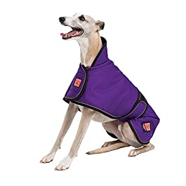 Ginger Ted Shower Waterproof Greyhound/Lurcher/Whippet Dog Coat